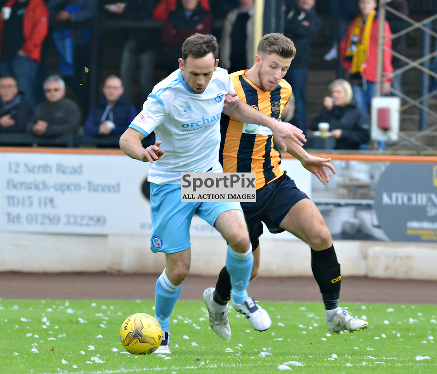 Jim Lister of Forfar leads the charge against Berwick Rangers.....(c) BILLY WHITE | SportPix.org.uk