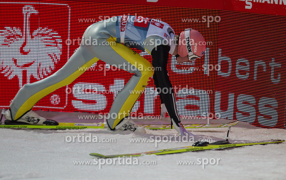 06.01.2013, Paul Ausserleitner Schanze, Bischofshofen, AUT, FIS Ski Sprung Weltcup, 61. Vierschanzentournee, Bewerb, im Bild Severin Freund (GER) // Severin Freund of Germany during Competition of 61th Four Hills Tournament of FIS Ski Jumping World Cup at the Paul Ausserleitner Schanze, Bischofshofen, Austria on 2013/01/06. EXPA Pictures © 2012, PhotoCredit: EXPA/ Juergen Feichter