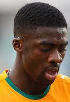 Photo: Steve Bond/Richard Lane Photography.<br />Nigeria v Ivory Coast. Africa Cup of Nations. 21/01/2008. Kolo Toure of Ivory Coast & Arsenal feels the heat