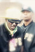 Flava Flav and Chuck D of Public Enemy, UK, 1989