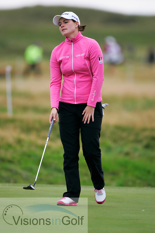 Caroline Mason<br /> Ricoh Womens British Open 2012<br /> Picture Credit: Mark Newcombe  / www.visionsingolf.com
