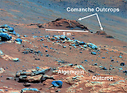Comanche Outcrop on Mars Indicates Hospitable Past