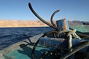 Egypt, Sinai, a fishing boat,