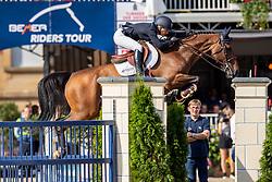 AUGUSTSSON ZANOTELLI Angelica (SWE), NINTENDER STAR<br /> Münster - Turnier der Sieger 2019<br /> Siegerrunde<br /> Grosser Preis von Münster <br /> BEMER Riders Tour Etappenwertung<br /> CSI4* - Int. Jumping competition over 2 rounds (1.60 m)<br /> 04. August 2019<br /> © www.sportfotos-lafrentz.de/Stefan Lafrentz