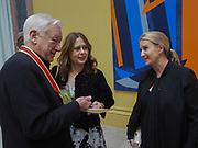 MICHAEL CRAIG-MARTIN; ALEXANDRA SHULMAN; ANYA HINDMARCH, Royal Academy of Arts Annual Dinner. Burlington House, Piccadilly. London. 6 June 2017