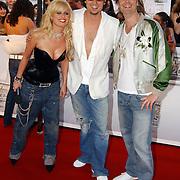TMF Awards 2005, Bridget Maasland, Jeroen Nieuwenhuijzen en Wessel van Diepen
