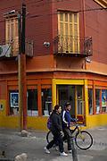 Buenos Aires, Argentina...Caminito. Casas coloridas, bairro turistico e popular de Buenos Aires. Bairro La Boca. ..The Colourful Houses on Caminito Street, Buenos Aires, Argentina...Foto: JOAO MARCOS ROSA / NITRO