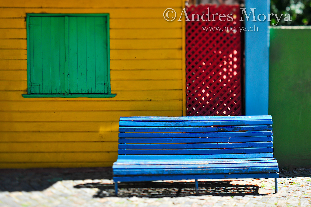 Street Details at Caminito , La Boca , Buenos Aires , Argentina Image by Andres Morya