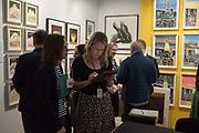 AMY JANE BLACKHALL, London Original Print Fair Preview, Royal Academy,  London. 24 April 2019