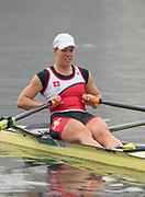 "Rio de Janeiro. BRAZIL right SUI W1X. Jeannine<br /> GMELIN, <br />   2016 Olympic Rowing Regatta. Lagoa Stadium,<br /> Copacabana,  ""Olympic Summer Games""<br /> Rodrigo de Freitas Lagoon, Lagoa. Local Time 10:24:24  Friday  12/08/2016<br /> [Mandatory Credit; Peter SPURRIER/Intersport Images]"