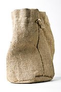 little raw burlap canvas style pouch