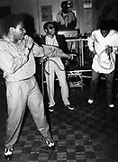 Rock Master Scott & the Dynamic Three, London, UK, 1985