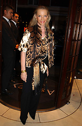 HRH PRINCESS MICHAEL OF KENT at a party to celebrate the publication of 'Last Voyage of The Valentina' by Santa Montefiore at Asprey, 169 New Bond Street, London W1 on 12th April 2005.<br /><br />NON EXCLUSIVE - WORLD RIGHTS