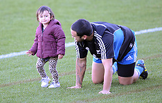 Hamilton-Rugby, All Black captains run, June 22
