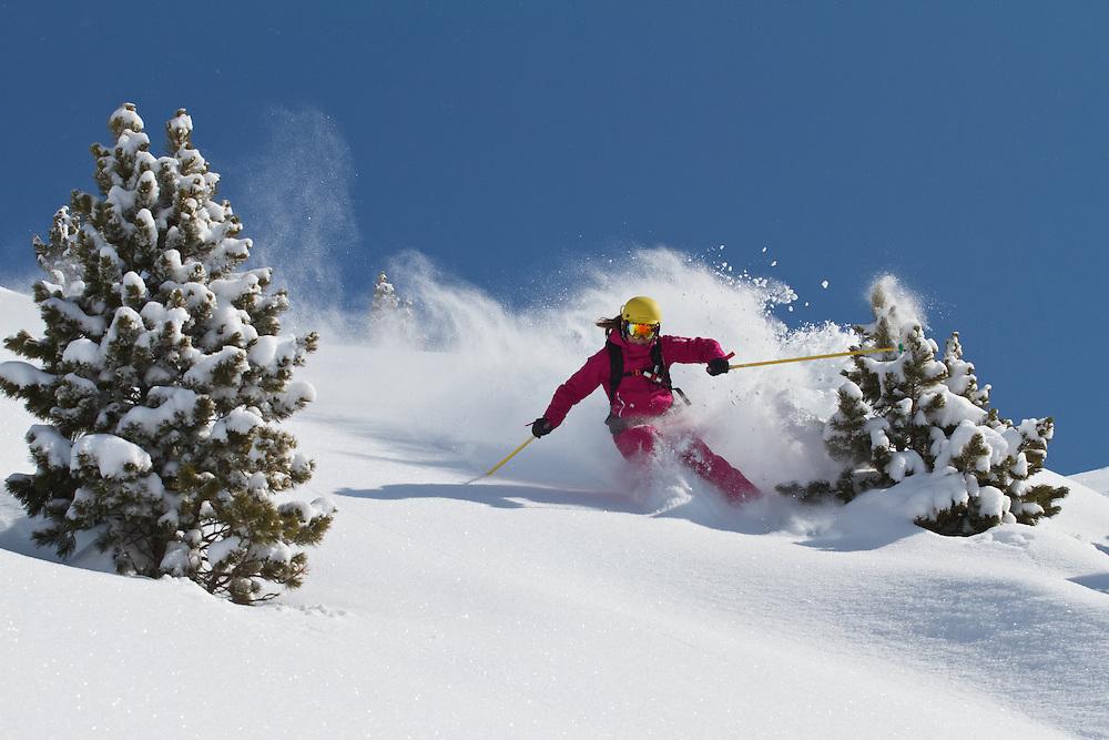 Ski & Board Magazine Ski Test, Kuhtai, Tirol, Austria 2012