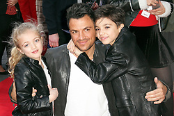 © Licensed to London News Pictures. 01/02/2014, UK. Peter Andre, Mr Peabody & Sherman 3D - VIP Gala Screening, VUE Leicester Square, London UK, 01 February 2014. Photo credit : Brett D. Cove/Piqtured/LNP