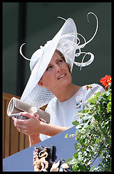 Countess of Wessex in the Royal Box at Royal Ascot, Wednesday,20th June 2012.  Photo by: Stephen Lock / i-Images