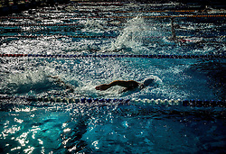 Warming up during Slovenian Swimming National Championship 2014, on August 3, 2014 in Ravne na Koroskem, Slovenia. Photo by Vid Ponikvar / Sportida.com