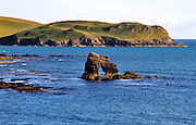 Thurlestone Rock, Bigbury Bay, South Milton Sands, Devon