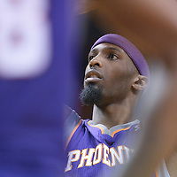 17 November 2010:  Phoenix Suns' power forward #21 Hakim Warrick is seen at the free throw line during the Miami Heat 123-96 victory over the Phoenix Suns at the AmericanAirlines Arena, Miami, Florida, USA.