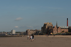 Sunny Evening in Portobello in contrast to this morning's haar cloaked scene.<br /> <br /> <br /> © Jon Davey/ EEm