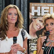 NLD/Ridderkerk/20120628 - Presentatie blad Helden 14, Inge de Bruin en Leontien Zijlaard - van Moorsel