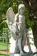 Cemetery in Belgrade, Serbia