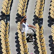 Los Angeles Dodger fans at a recent game against the league leading Philadelphia Phillies.