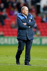 Bristol Rugby Director of Rugby Andy Robinson looks on - Mandatory byline: Rogan Thomson/JMP - 22/11/2015 - RUGBY UNION - Ashton Gate Stadium - Bristol, England - Bristol Rugby v Scarlets Premiership Select - B&I Cup.