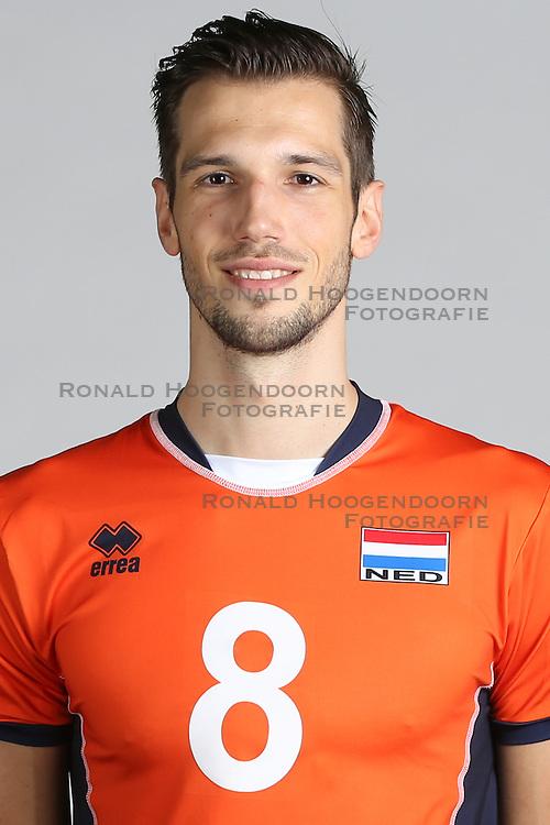 20160516 NED: Selectie Nederlands volleybal team mannen, Arnhem<br />Bas van Bemmelen