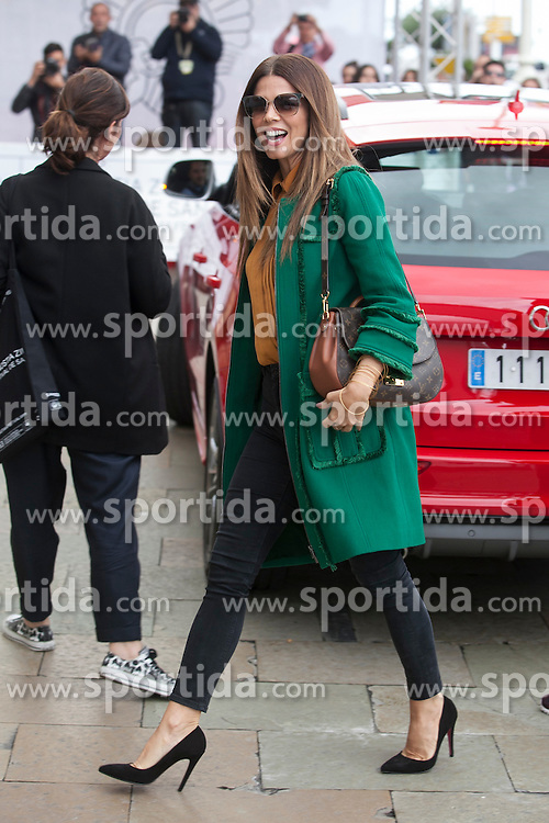 23.09.2015, Madrid, San Sebastian, ESP, San Sebastian International Film Festival, im Bild Actress Juana Costa arrives to Maria Cristina hotel // during the San Sebastian International Film Festival in Madrid in San Sebastian, Spain on 2015/09/23. EXPA Pictures &copy; 2015, PhotoCredit: EXPA/ Alterphotos/ Victor Blanco<br /> <br /> *****ATTENTION - OUT of ESP, SUI*****