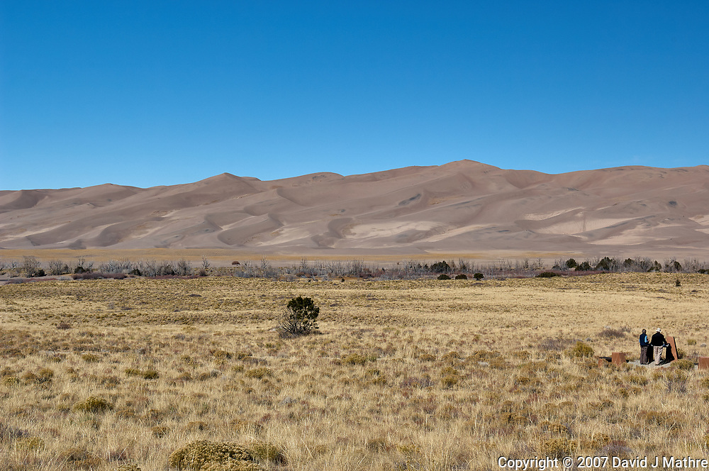 Great Sand Dunes National Park. Panorama (3 of 7). Image taken with a Nikon D2xs camera and 17-35 mm f/2.8 zoom lens (ISO 100, 35 mm, f/11, 1/125 sec).