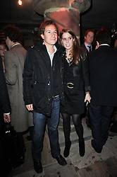 PRINCESS BEATRICE OF YORK and DAVE CLARK at the launch party for the new nightclub Public at 533 Kings Road, London on 2nd December 2010.