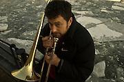 10.03.2006 Gdansk Poland. Tymon Tymanski musician. Fot. Piotr Gesicki