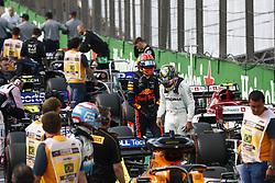 November 17, 2019, Sao Paulo, Brazil: Motorsports: FIA Formula One World Championship 2019, Grand Prix of Brazil, . #33 Max Verstappen (NLD, Aston Martin Red Bull Racing), . #44 Lewis Hamilton (GBR, Mercedes AMG Petronas Motorsport) (Credit Image: © Hoch Zwei via ZUMA Wire)