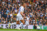 Kalvin Phillips of Leeds United (23) in action during the EFL Sky Bet Championship match between Leeds United and Aston Villa at Elland Road, Leeds, England on 28 April 2019.
