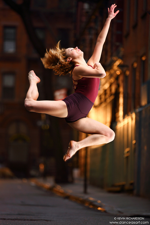 Dance As Art Streets of New York West Village Series with dancer Krystal Lamiroult