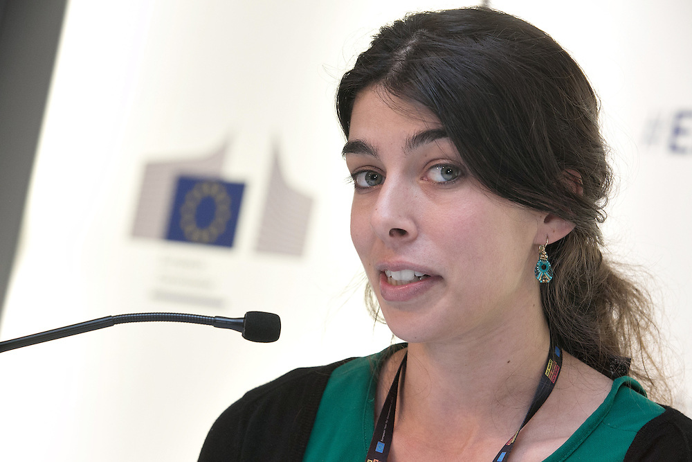 03 June 2015 - Belgium - Brussels - European Development Days - EDD - Migration - Shifting wealth , shifting migration flows - Anna Knoll , Policy Officer in the Strengthening European External Action Programme © European Union
