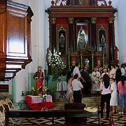 CALABOZO<br /> Iglesia de Camaguan.<br /> Estado Guarico - Venezuela 2008<br /> (Copyright © Aaron Sosa)<br /> <br /> Calabozo, oficialmente Villa de Todos los Santos de Calabozo, es una ciudad de Venezuela situada en el estado Guárico, capital del municipio Sebastián Francisco de Miranda y antigua capital del estado. Tiene una población de 325.477 habitantes. Se ubica en el centro-oeste del estado Guárico, es el primer productor de arroz del país, con un 60%. Cuenta con el sistema de riego más grande de Venezuela. Tiene una importante potencialidad por desarrollar, pues es la primera en consumo de bienes y servicios del estado.<br /> Calabozo está situada a 101 msnm, en las márgenes del Río Guárico, en el alto llano central. En el mapa es fácil de encontrar junto a la Represa Generoso Campilongo, una importante obra tanto de su tiempo como en la actualidad.<br /> <br /> Calabozo is situated in the midst of an extensive llano on the left bank of the Guárico River, on low ground, 325 feet above sea-level and 123 miles S.S.W. of Caracas. The plain lies slightly above the level of intersecting rivers and is frequently flooded in the rainy season; in summer the heat is most oppressive, the average temperature being 69 Fahrenheit.<br /> In its vicinity are thermal springs. The principal occupation of its inhabitants is cattle-raising. The town is well built, regularly laid out with streets crossing at right angles, and possesses several fine old churches, a college and public school. It is a place of considerable commercial importance because of its situation in the midst of a rich cattle-raising country.