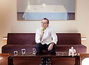 MODENA, Italy, lo chef Mssimo Bottura si è conquistato la terza stella michelin..Prize winner Chef Massimo bottura got three stars Michelin for his Osteria Francescana in Modena. .