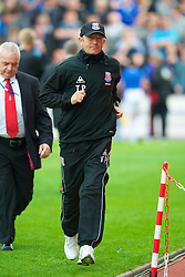 STOKE, ENGLAND - Saturday, May 1, 2010: Stoke City's manager Tony Pulis before the Premiership match against Everton at Britannia Stadium. (Photo by David Rawcliffe/Propaganda)