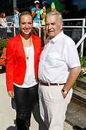Sabine Lisicki und Eberhard Wensky, Sabine Lisicki Empfang beim LTTC Rot-Weiss Berlin nach Wimbledon-Finale, Berlin, 07.07.2013,