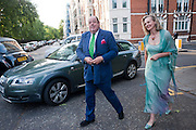 NICHOLAS SOAMES; SERENA SOAMES, Conservative Summer Party. Royal  Hospital Chelsea. London.  5 July 2010. -DO NOT ARCHIVE-© Copyright Photograph by Dafydd Jones. 248 Clapham Rd. London SW9 0PZ. Tel 0207 820 0771. www.dafjones.com.