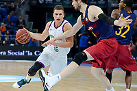 Unicaja's Nemanja Nedovic during Quarter Finals match of 2017 King's Cup at Fernando Buesa Arena in Vitoria, Spain. February 17, 2017. (ALTERPHOTOS/BorjaB.Hojas)
