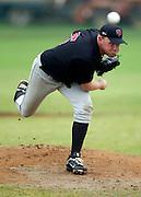 Howick-Pakuranga pitcher Andrew Marck. New Zealand Baseball Nationals Final, Howick-Pakuranga v Westcity-Metro, Crossfields Reserve, Auckland, Sunday 11 March 2012. Photo: Simon Watts/photosport.co.nz