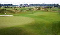 SPIJK - Hole 14 van The Dutch .   Golfbaan THE DUTCH, waar het KLM Open in september 2016 zal worden gehouden. COPYRIGHT KOEN SUYK