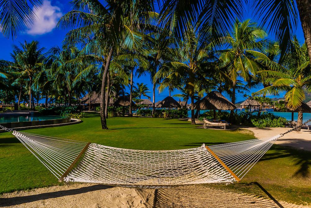 Four Seasons Resort Bora Bora, Motu Tehotu, Bora Bora, Society Islands, French Polynesia.