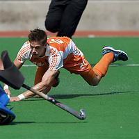 MELBOURNE - Champions Trophy men 2012<br /> Netherlands v New Zealand<br /> Nederland naar de halve finale<br /> foto: Sander de Wijn voor de voorzet..<br /> FFU PRESS AGENCY COPYRIGHT FRANK UIJLENBROEK