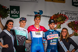 Podium with winner Dylan GROENEWEGEN (NED) of Team Lotto NL-Jumbo after the Arnhem Veenendaal Classic at Veenendaal, Utrecht, The Netherlands, 19 August 2016.<br /> Photo by Pim Nijland / PelotonPhotos.com | All Rights Reserved