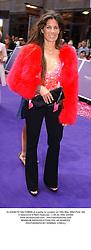 ELIZABETH SALTZMAN at a party in London on 18th May 2004.PUG 184